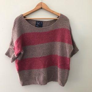 🛑5 for $25 AE stripe short sleeve sweater
